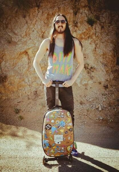 Micro Luggage-Steve Aoki Edition